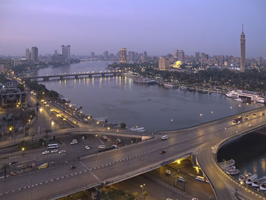 Overview image of Cairo City, Egypt's Capital