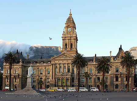 Image of the City of Hall of Cape Town, South Africa