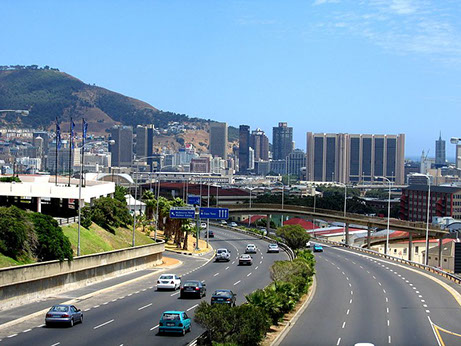 Image of Cape Town N2 Highway, used to Get in and around Cape Town City