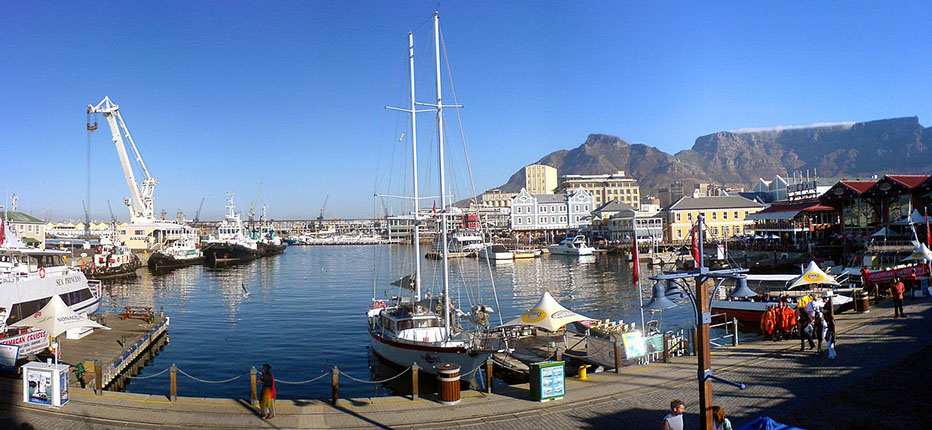 Image of the Victoria & Aalfred Waterfront in Cape Town, South Africa