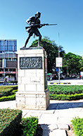 The Askari Monument in Dar es Salaam City in Tanzania