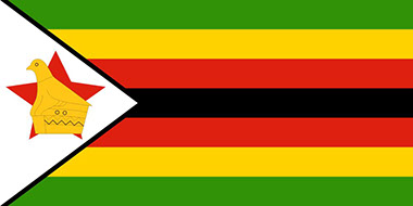 Image of the Official Flag of Zimbabwe