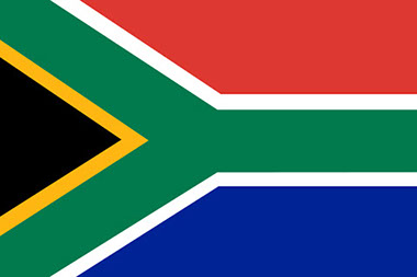 An Image of the Flag of South Africa