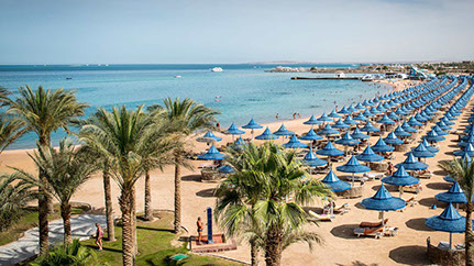 Image of a Beach in Hurghada