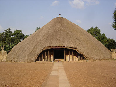 Image of the The UNESCO Kasubi tombs (Ssekabaka's Tombs) Heritage site in Kampala City, Uganda