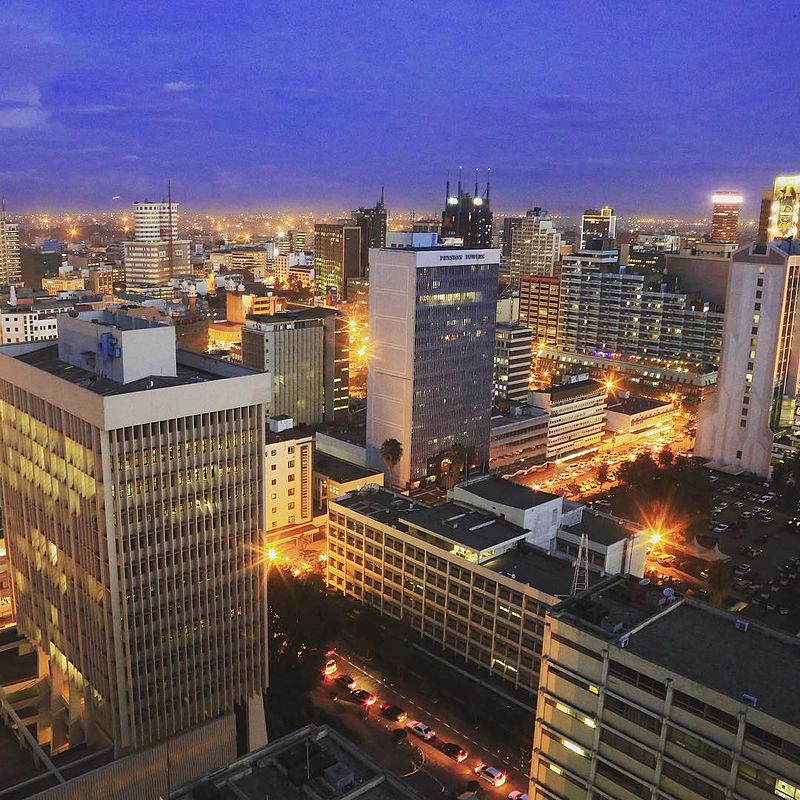 Nairobi City is the economical capital city of Africa, Kenya