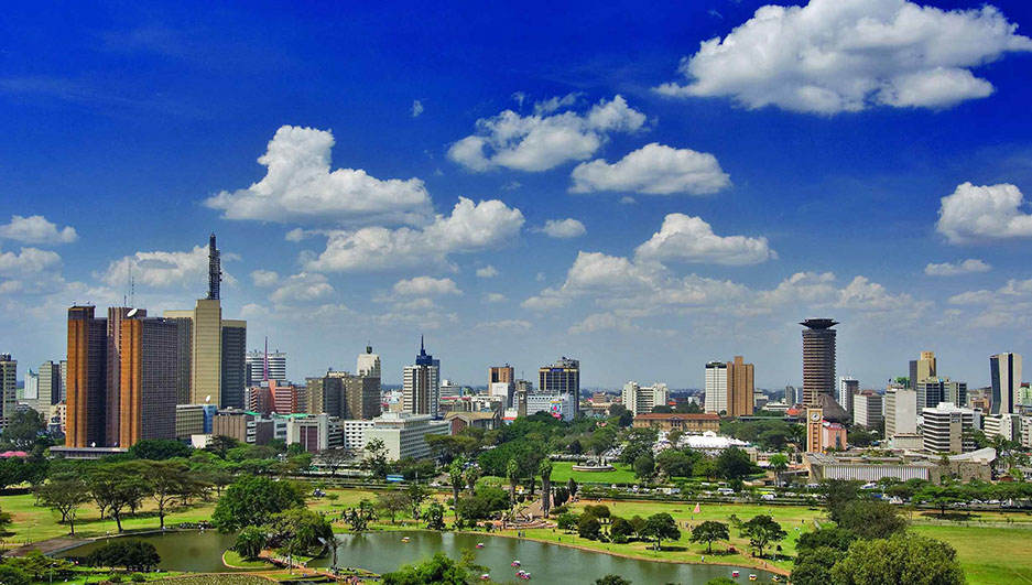 Nairobi City is the Capital of Kenya and one of Africa's Business hubs