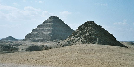 The Saqqara Necropolis in Egypt
