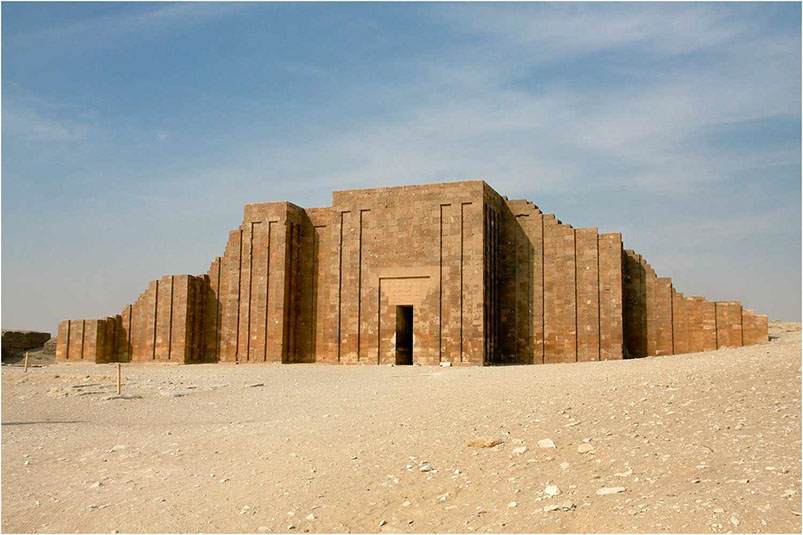 Visit Saqqara to see The Pyramid of Djoser, The Entire Saqqara Complex and several ancient Egyptian burial sites