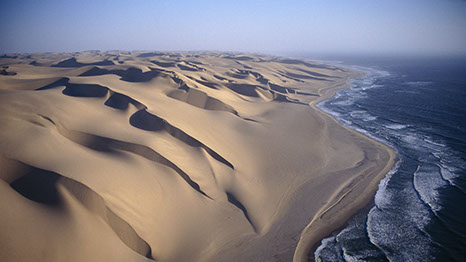 The only place like it in Africa, is the Skeleton coast park. A place filled with shipwrecks