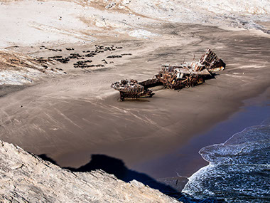 Skeleton Coast Park is one of Africa's greatest treasures