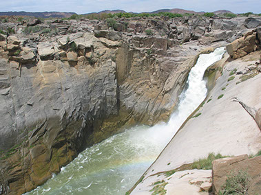 An image of the Augrabies Falls