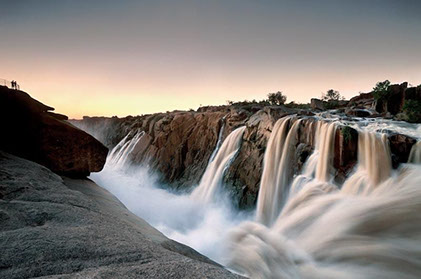 A breathtaking image of Augrabies Falls in Augrabies Falls National Park, South Africa
