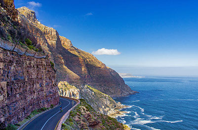 A beautiful view of the garden route national park, South Africa