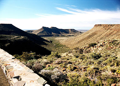 Karoo national park is a place known for its stunning and soothing scenery in Africa