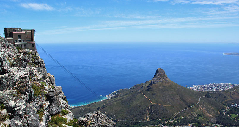 Table Mountain is a natural 7th world wonder and a world heritage site
