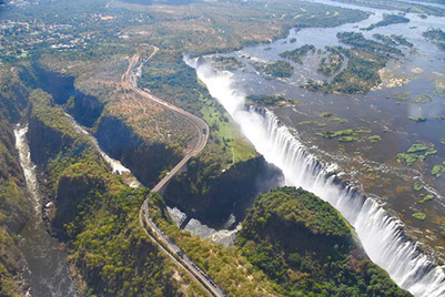 One of Africa's seven wonders, is the Victoria Falls