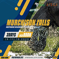3Day Murchison Falls Nature, Wildlife tour experience - October, 2020.